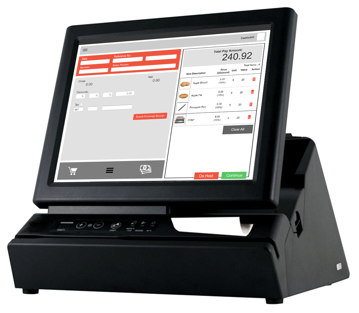 POS system   Netiquette Software Malaysia